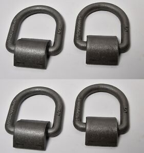 4 1 2 D Ring Weld On Flatbed Truck Trailer Ratchet Strap Cargo Tie Down Ring