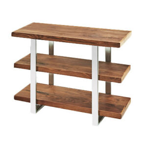 Cal Mil 3708 49 Mid Century Tier Riser Shelves 3 Walnut Shelves