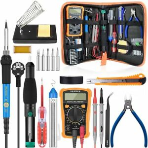 Digital Multimeter Professional Capacitor Soldering Iron Diy Transistor Tester