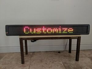 Adaptive Micro Systems Big Dot Color Programmable Electronic Sign