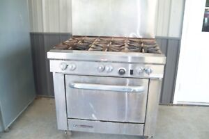 Southbend Commercial 6 Burner Gas Cooking Stove
