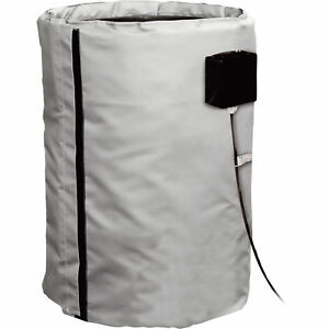240v Briskheat Drum Heater Warmer Electric Blanket 1600watts 55gal Fgdhc55240d