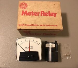 New In Box General Electric Current Meter 50 197414lszz2