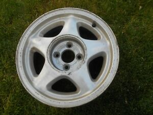 Ford Mustang 4 Lug 16 X7 Star Used Factory Oem 87 93 1 Piece Only