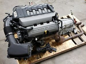 2015 Ford Mustang 5 0 Coyote Engine Drivetrain Automatic Auto Dohc Complete 30k