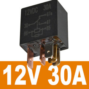 260pcs Car Relay 12v 30a 5pin Socket Hardness Power On Off Switcher Contactors