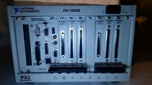 National Instruments Pxi 1000b Chassis W Cpu Pxi 8156 2x 6070e 4x 6508