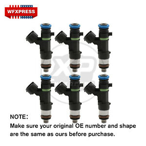 6x Fuel Injectors For Bosch Nissan Maxima Quest Altima Murano 3 5l 0280158005