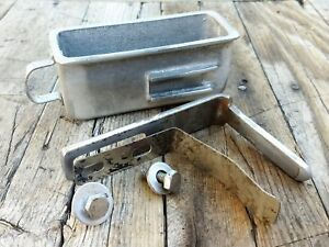 Vintage Globe Meat Slicer Model 75 Drip Cup With Mounting Brackets And Hardware