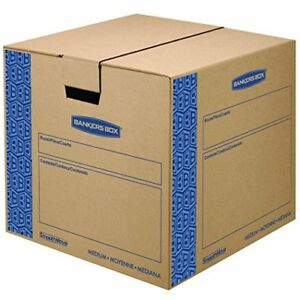 Bankers Box Smoothmove Prime Moving Boxes Tape free Fastfold Easy Assembly 18