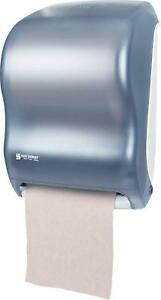 brand New San Jamar T1300tbk Tear n dry Electronic Roll Paper Towel Dispenser