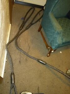 Matex 1 1 4 X 8 Wire Rope Sling Vertical Choker Or Basket