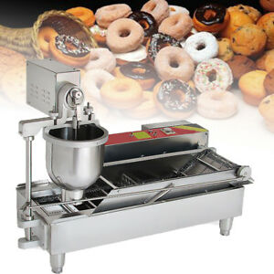 New Automatic Commercial Donut Fryer Maker Making Machine Donut Robot 6kw Fda A