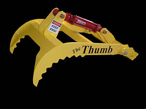 New Bucket Thumb Grapple For Skid Steer Loader Tractor hurricane
