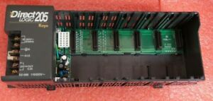 Automation Direct D2 06b Power Supply W 6 Card Slot Holder Direct Logic 205