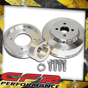5 0l Ford Mustang Cobra Gt 94 95 Billet Serpentine Pulley Set