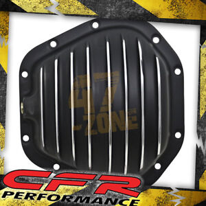 Aluminum 1966 Up Dodge Ford Dana 60 Front Rear Differential Cover 10 Bolt Black