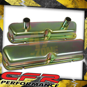 1962 85 Ford Small Block Circle Track Racing Valve Covers Zinc