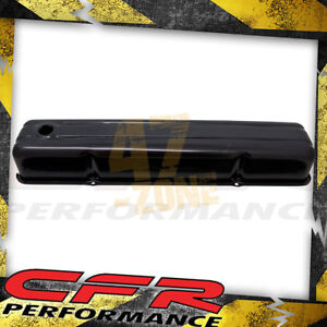 1952 62 Chevy 235 Straight Inline 6 Cylinder Steel Valve Cover Black