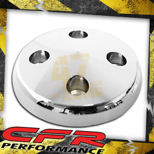 Aluminum Water Pump Pulley Nose Gm Chevy Sb 283 350 Swp Chrome