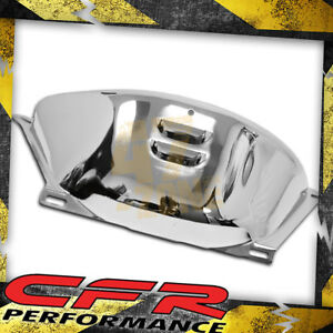 Chevy Gm Turbo Th 350 Th 400 Chrome Steel Flywheel Flexplate Cover