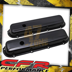 1968 84 Cadillac 368 425 472 500 V8 Valve Covers Black
