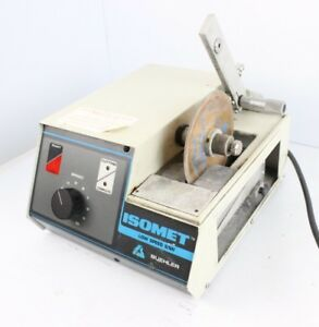 Buehler Isomet Low Speed Precision Sectioning Cutting Machine Saw 11 1280 160