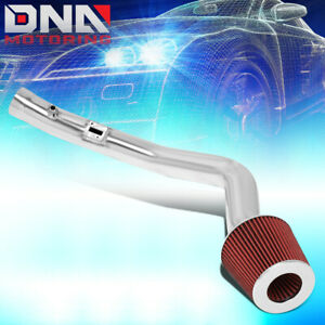 For 2004 2006 Nissan Maxima 3 5l 1pc Aluminum Cold Air Intake Kit W red Filter