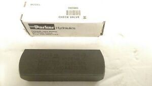 Parker Hannifin Hydraulic C820s65 Sae Check Valve Free Shipping