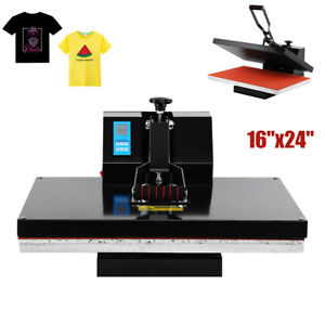 16 x24 Lcd Timer Temp Heat Press Machine Digital T shirt Sublimation Transfer