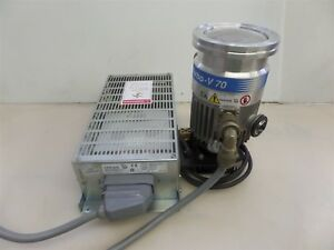Varian Turbo v 70 9699357 Pump With 9699507s011 Pump Controller