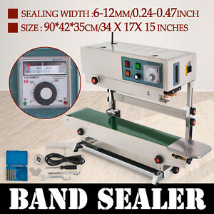 Fr900 Automatic Sealing Machine Useful Chemical Industry Continuous Band Sealer