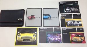 2004 Mini Cooper S R53 Owner S Manual W Leather Case R1003
