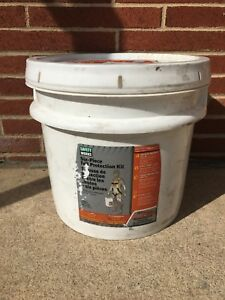 Safety Works Six piece Fall Protection Kit New In Bucket 10095901