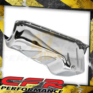 Steel 1986 02 Chevy Sb Oil Pan 305 350 383 Chrome