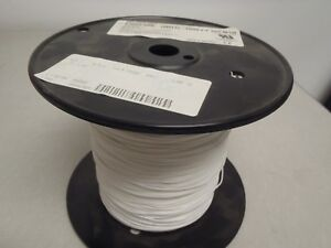 Belden 83002 White 26ga 26awg Stranded Tfe Teflon Wire 1000 Hook Up Wire L2