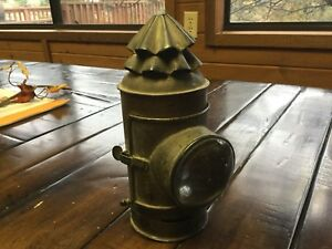 Antique Brass Life Boat Signal Light