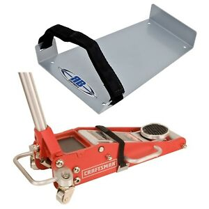 Rb Components Aluminum Racing Floor Jack Storage Bracket Mount W Strap 2251