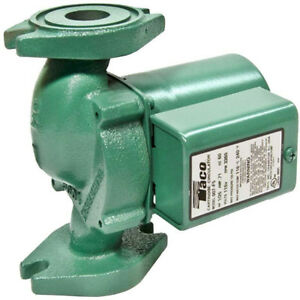 Taco Comfort 1 25 Hp Cast Iron Hydronic Boiler Replacement Circulator Pump