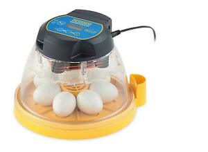 Digital Electric Automatic 7 Egg Incubator Programmable Hatch Hatching Poultry