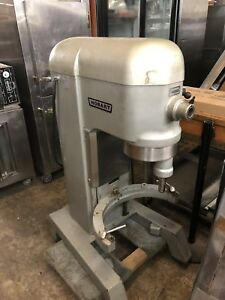 Hobart 60 Quart Mixer 1 5hp Model H600t With Bowl And Hook used Works Great