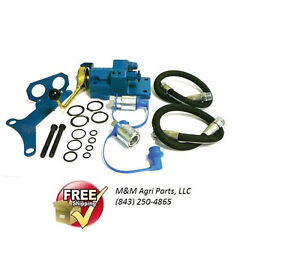 Single Spool Double Acting Hyd Remote Valve Kit Ford New Holland Tractors
