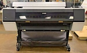 Epson Stylus Pro 9900 Wide Format Printer 44 Model K162a operational Unit