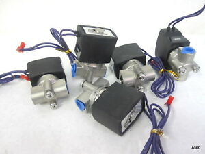 5 Electric Solenoid Valves 12v Dc Sgs