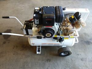 Air Compressor Yanmar Diesel Powered Portable 4 Cylinder Air Compressor