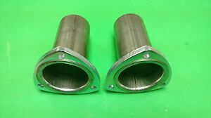 3 To 2 5 409 Stainless 3 Bolt Flange Gasket Style Header Collector Reducer Usa