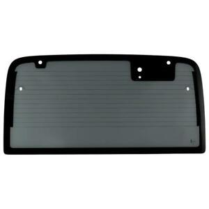 New Rear Back Glass For Jeep Wrangler 2003 2006