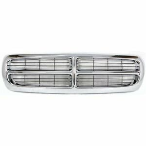 New Grille For Dodge Dakota 1997 2004 Ch1200199