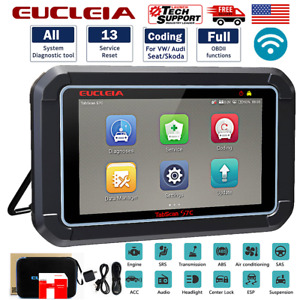Obd2 Car Full System Diagnostic Scanner Bi directional Tool Tpms Coding Tablet