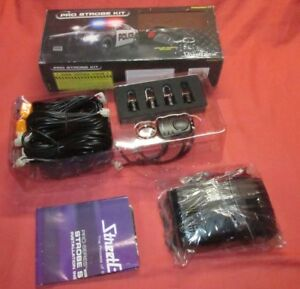 New Streetglow Proskit Wireless Remote Pro Series System Strobe Kit Strobekit